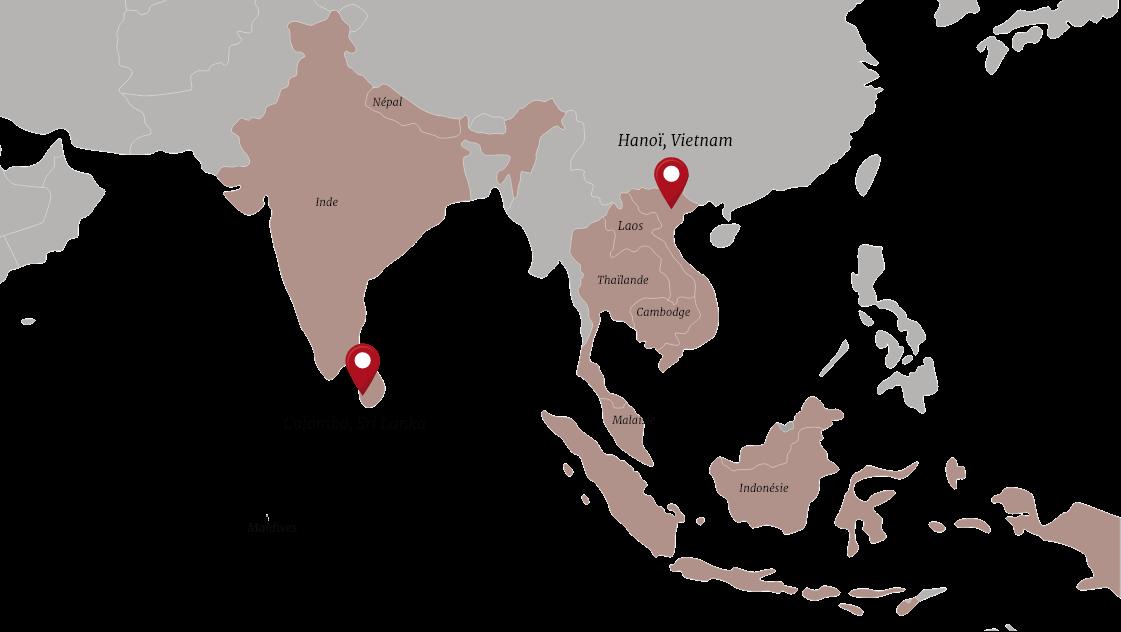 mai globe travels locations map