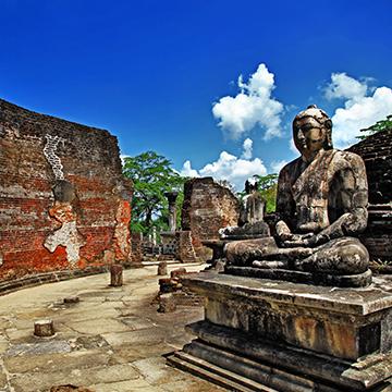 Die Hauptattraktionen Sri Lankas