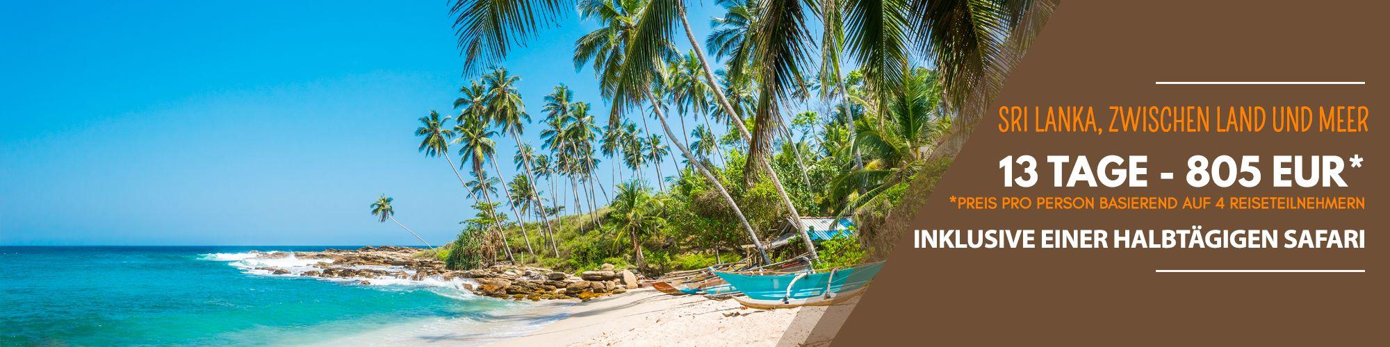 Sri Lanka, zwischen Land und Meer