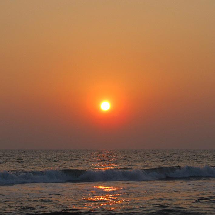 Sunset, Cochin, India