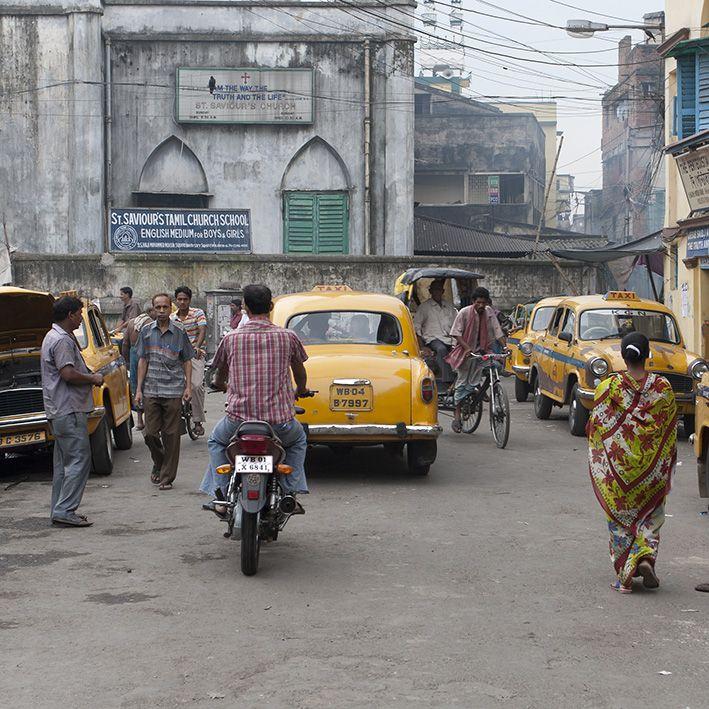 Street, New Delhi, India