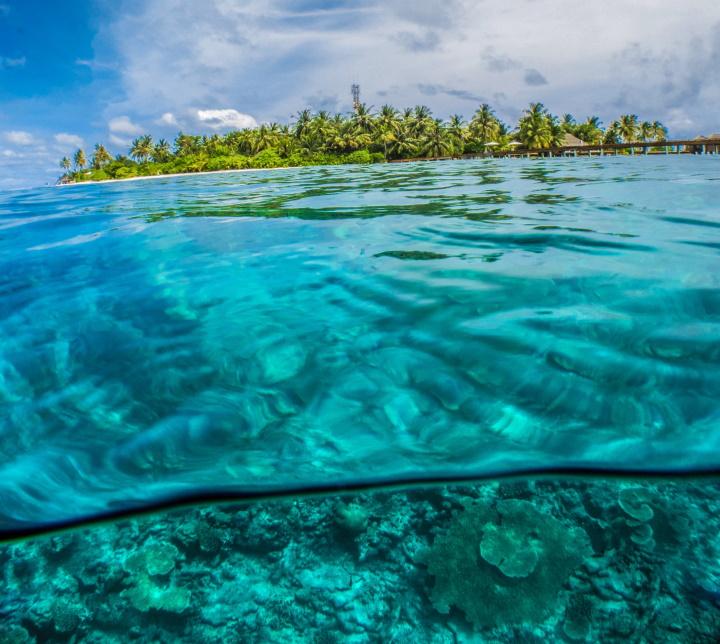 erschwinglicher Aufenthalt auf den Malediven
