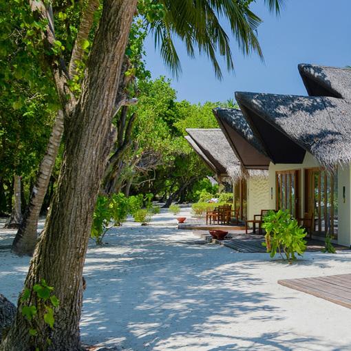 Strandhaus, Adaaran select hudhuranfushi Hotel, Malediven