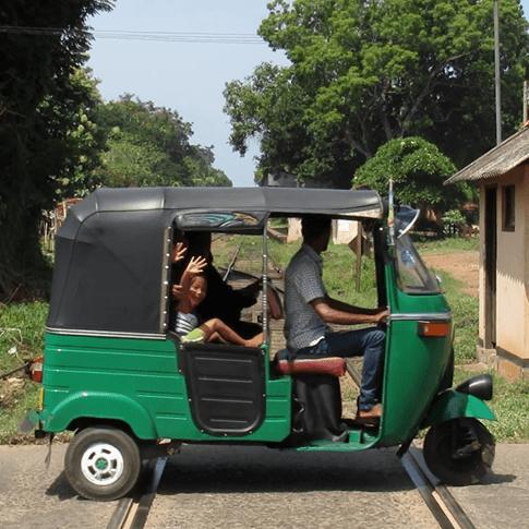 Abschied, Sri Lanka