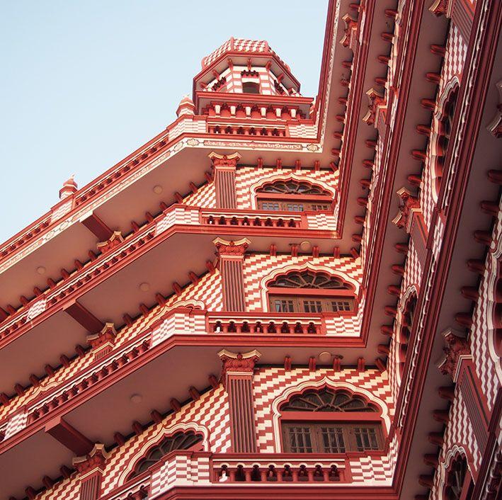 Moschee, Colombo, Sri Lanka