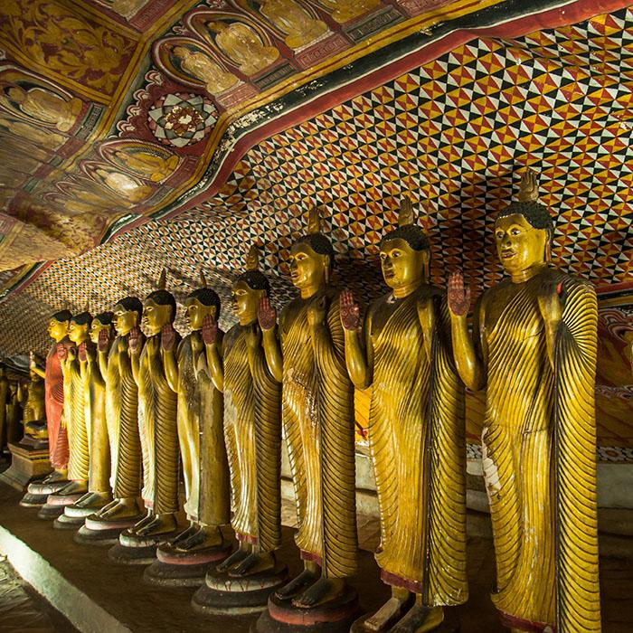 Dambulla, Buddha Statue, Sri Lanka