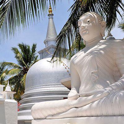 Buddhistischer Tempel, Insel Nainativu, Jaffna, Sri Lanka
