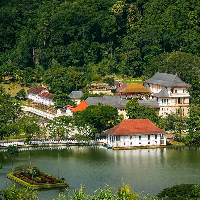 Zahntempel, Kandy, Sri Lanka