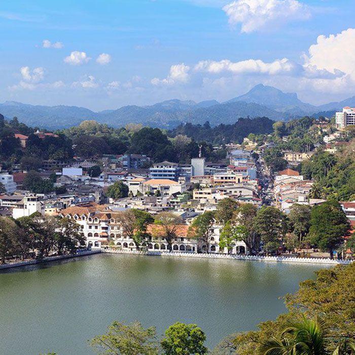 Sri Lanka, Stadtbesichtigung, Kandy