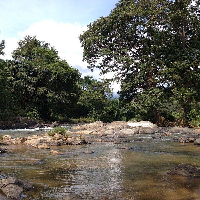 Sri Lanka, Knuckles, See, Wanderung