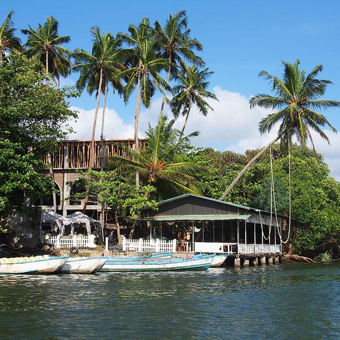Sri Lanka, Madu Ganga, Bootsafari