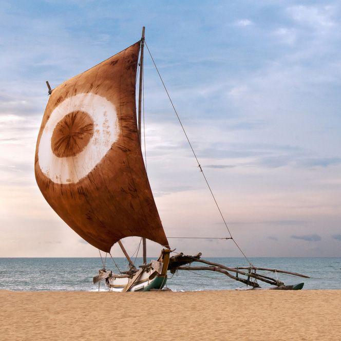 Fishing Boat, Negombo, Sri Lanka