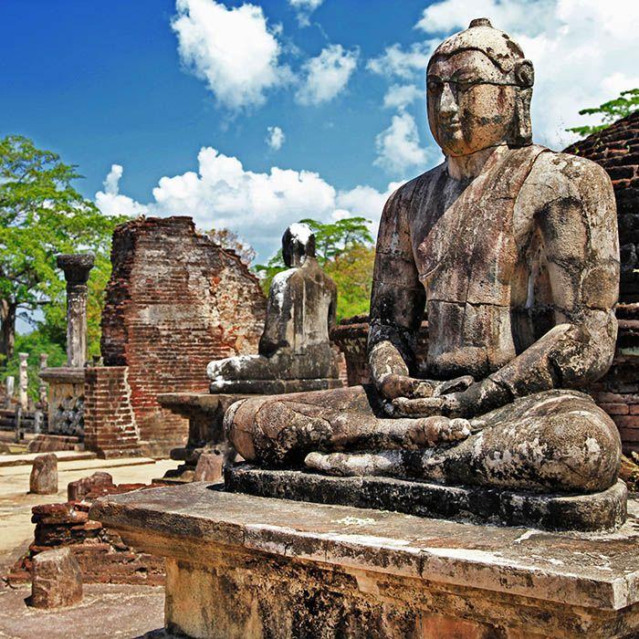 Statue von Buddha, Polonnaruwa, Sri Lanka