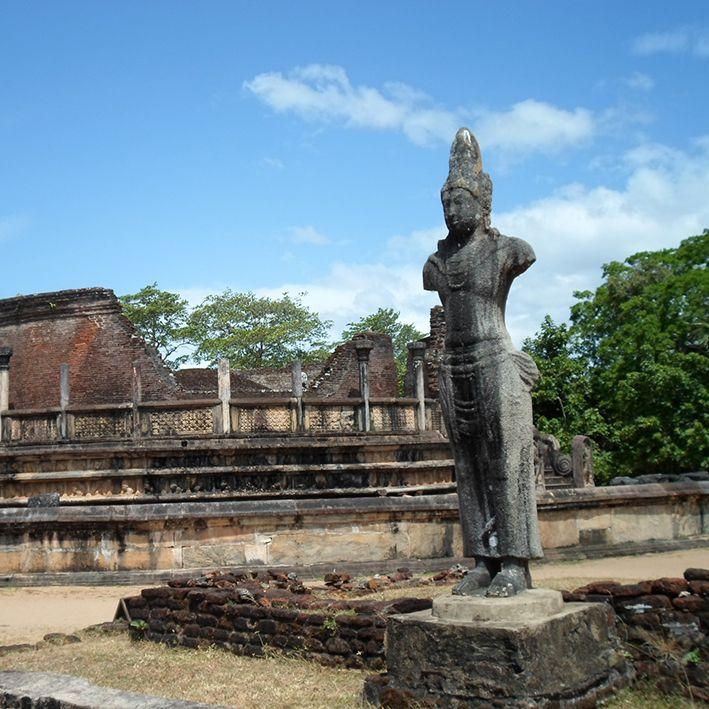 Buddhastatue, Polonnaruwa, Sri Lanka
