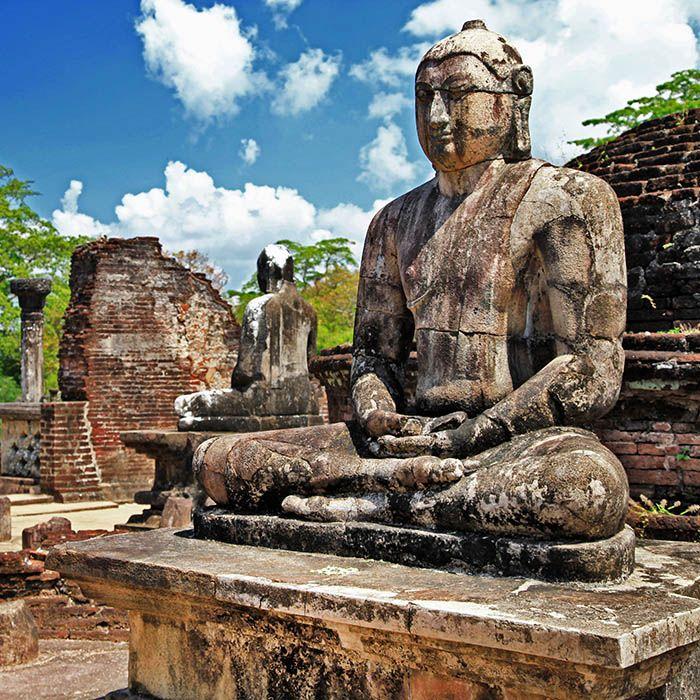 Ruinen - Buddhastatue - Polonnaruwa - Sri Lanka