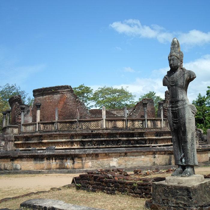 Polonnaruwa, Ruinen, Sri Lanka