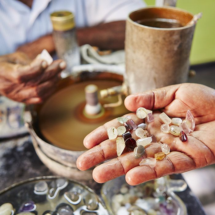 Precious Stones, Sri Lanka