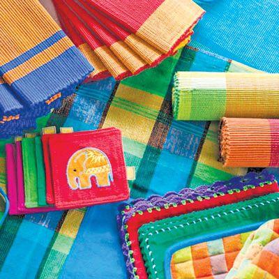 Selyn, fair trade Handwebe Sri Lanka