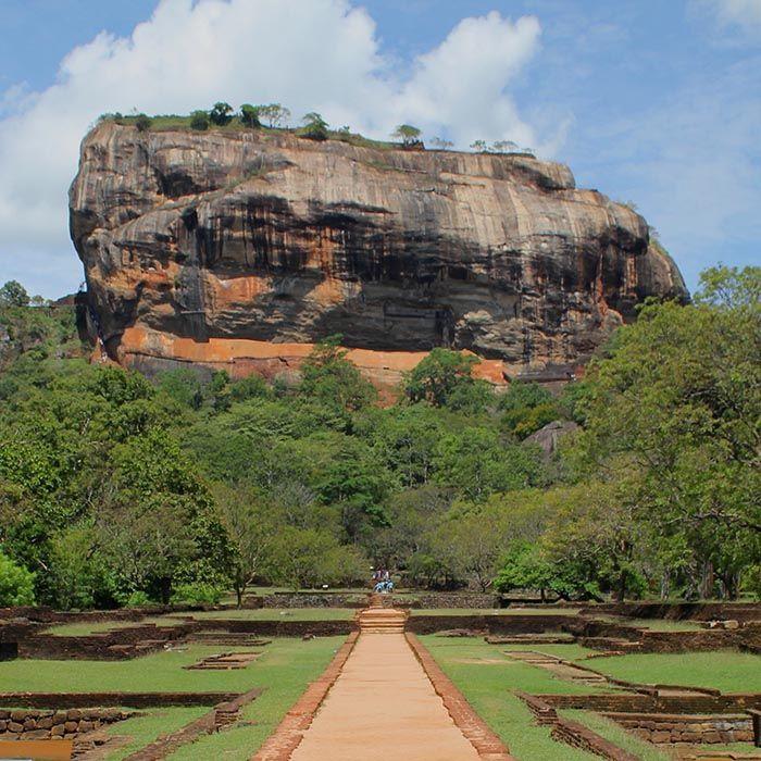 Löwenfelsen, Sigiriya, Sri Lanka