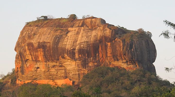 The Lion Rock, Sigiriya, Sri Lanka