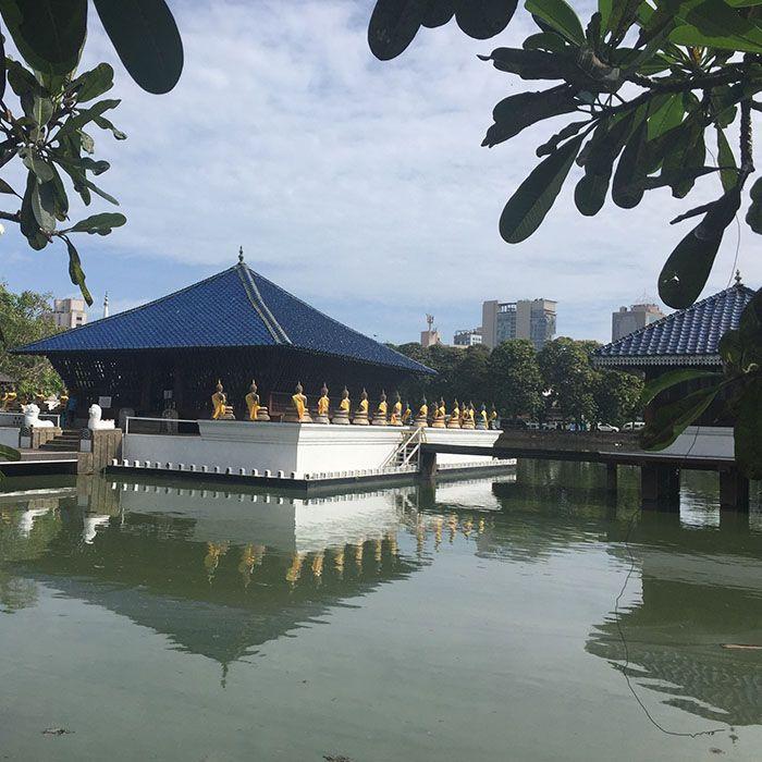 Sri Lanka, Tempel, Buddhismus