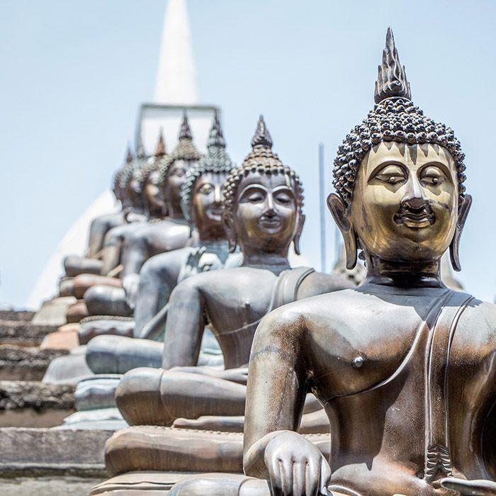 Gangaramaya Tempel, Colombo, Sri Lanka