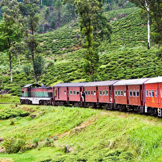 Train, Ella-Watagoda, Sri Lanka