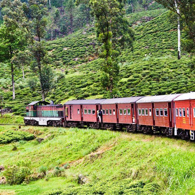 Train, Kandy-Nuwara Eliya, Sri Lanka