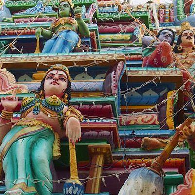Hindu temple, Trincomalee, Sri Lanka ©Globetrotther