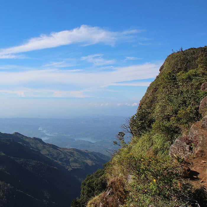 Wandern, Horton Plains, Sri Lanka