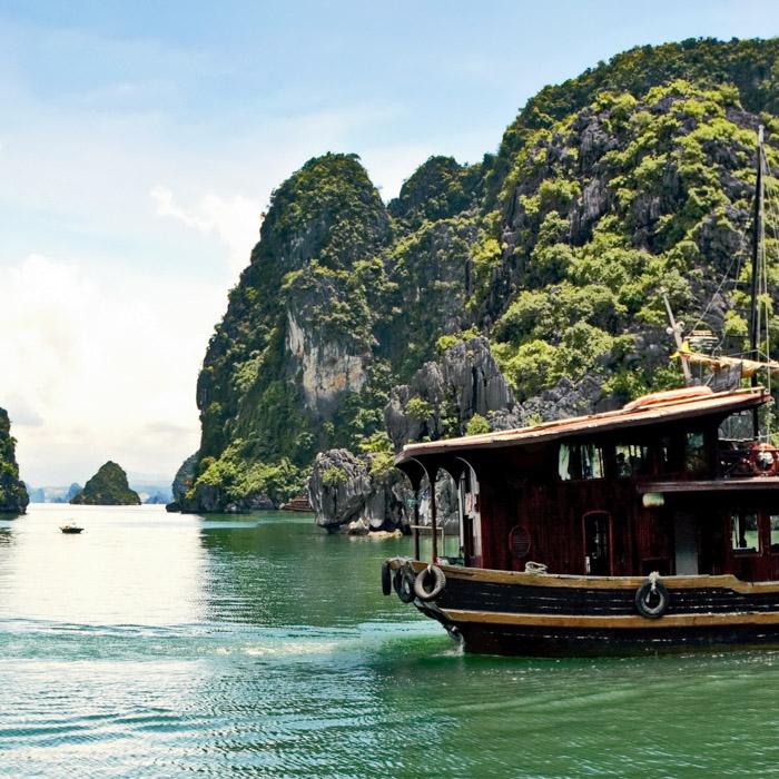 Vietnam, Halong Bucht