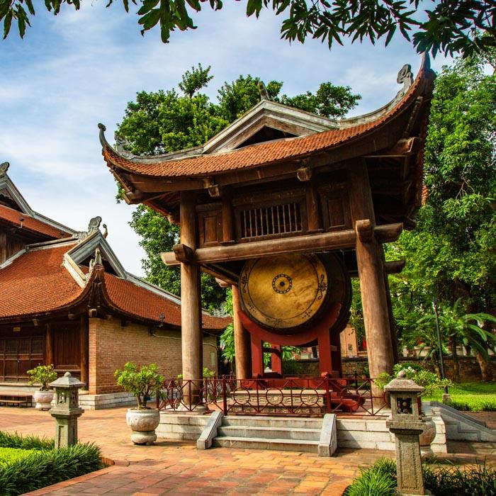 Vietnam, Hanoi, Tempel