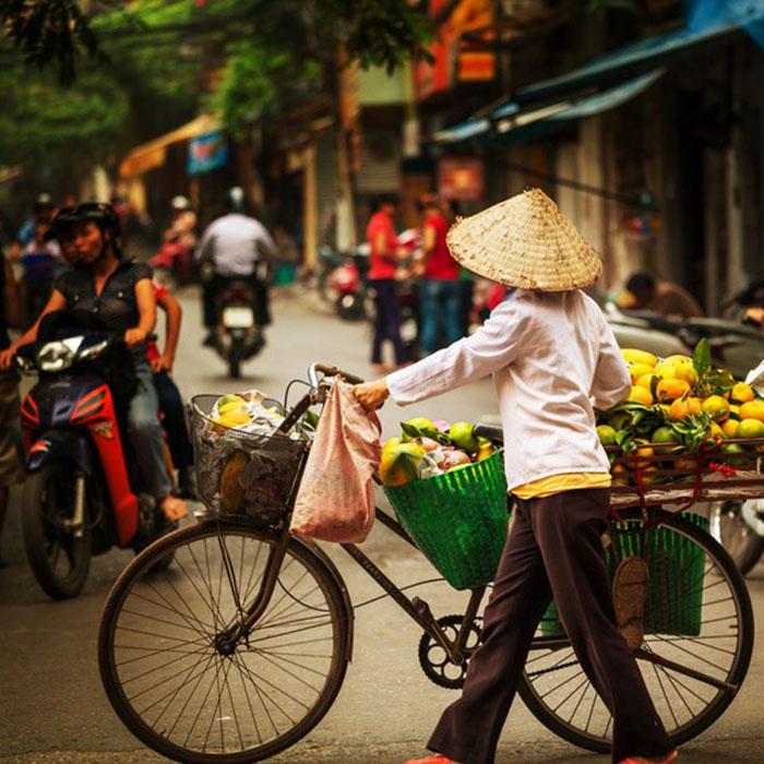 Markt, Vietnam, Hanoi