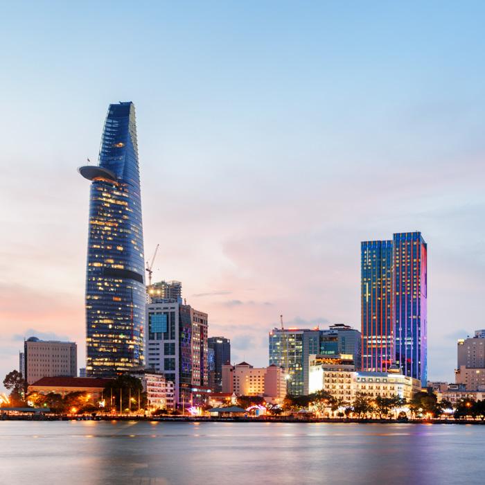 Vietnam, Ho Chi Minh Stadt