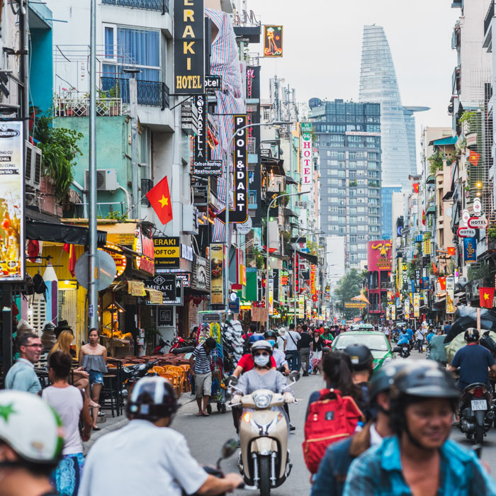 Vietnam, Ho Chi Minh, Stadt