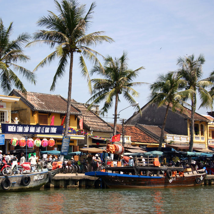 Boats, Hoi An, Vietnam