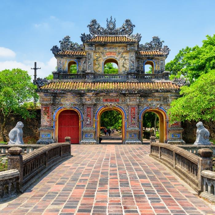 Vietnam, Hue, Kaiserstadt