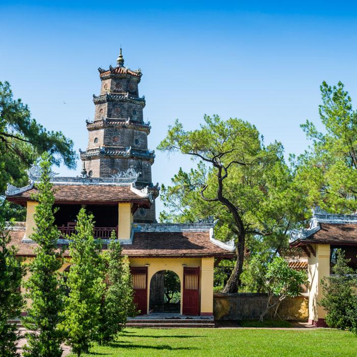 Vietnam, Hue, Thien Mu, Pagoda