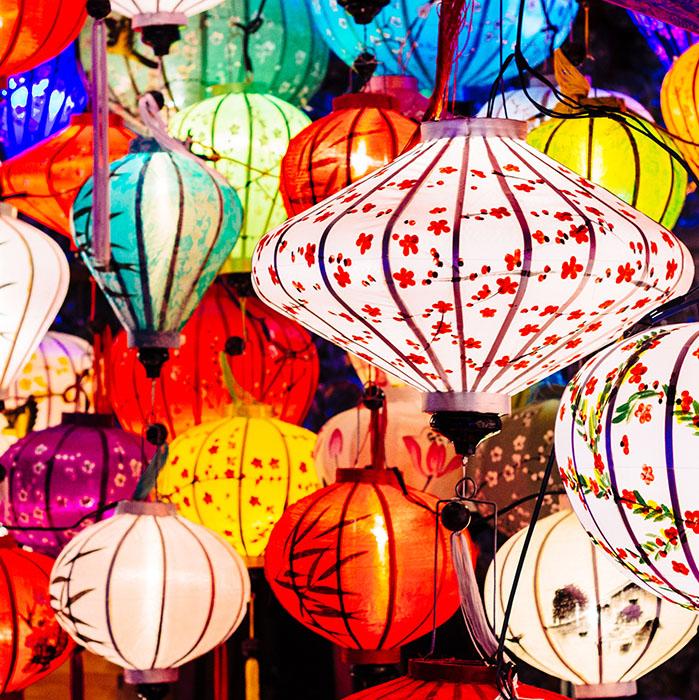 Bunte Laternen, Vietnam