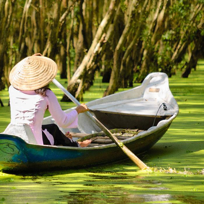 Mekong Fluss, Vietnam