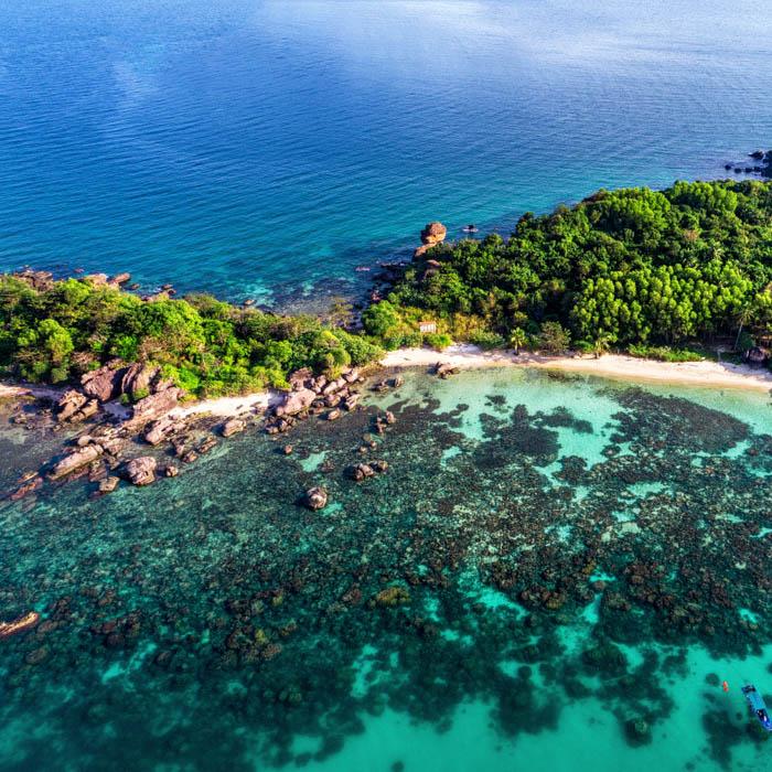 Vietnam, Phu Quoc, Küste, Meer