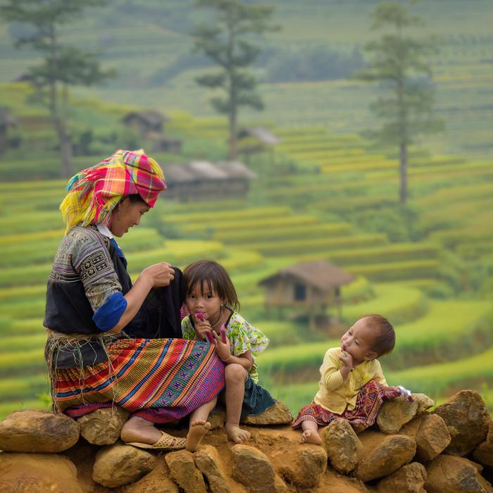 Vietnam, Lao Cai, Mensch, Minorität, Ethnic