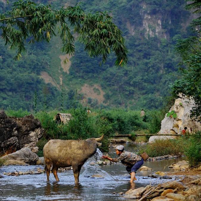 Wanderung Nà Chì, Quảng Nguyên, Vietnam