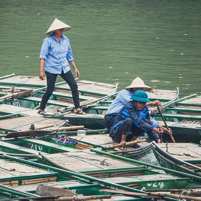 Traditionelles Boot, Vietnam