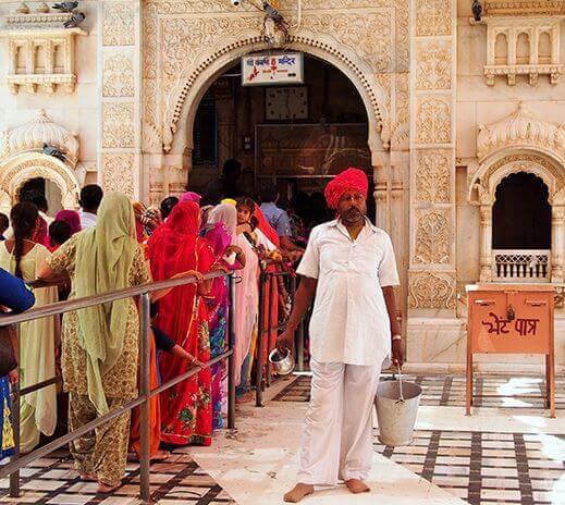 Temple, Rajasthan, India