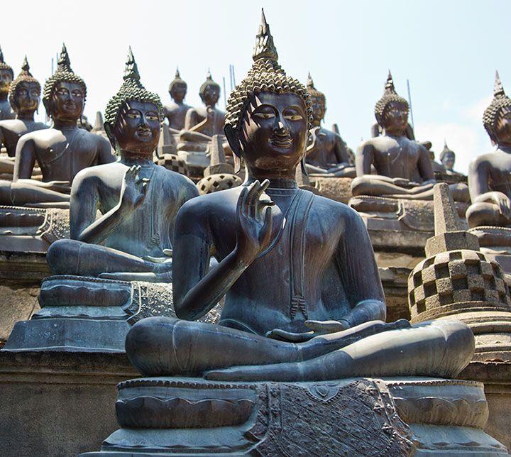 Sri Lanka, Buddha Statue, Colombo