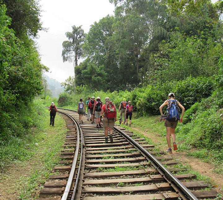 Sri Lanka, Ella, Felsen, Wanderung
