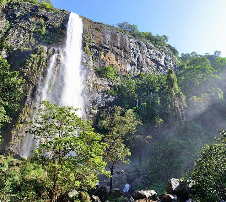 Sri Lanka, Wasserfall, Bambarakanda