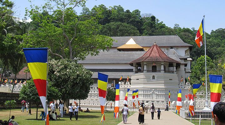 Sri Lanka, Kandy, Zahntempel