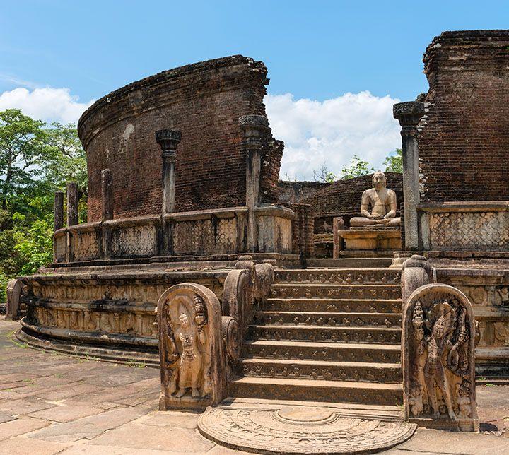 Sri Lanka, Polonnaruwa, Tempel, Unesco, Kulturdreieck